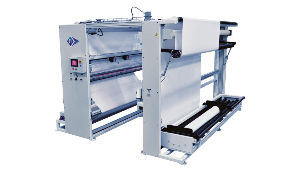 CL-4300-D - Automatic high speed roll to roll slitter. - Automatex