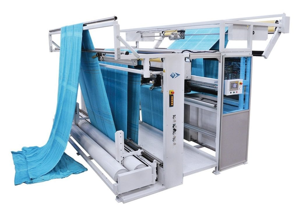 CLS-4600-145 - Terry-Towel Length Slitter. - Automatex
