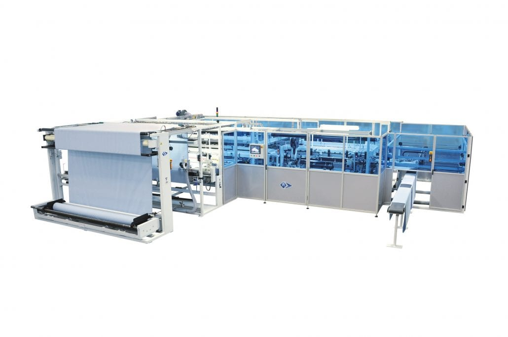 FDP-77725 - Automatic Flat Sheet Hemming Unit - Automatex