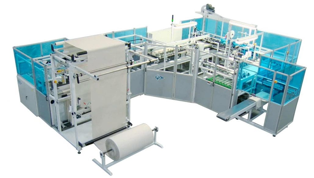 FTO-9880-T-D - Combination Width for Length and Length for Length Pillowcase Unit. - Automatex
