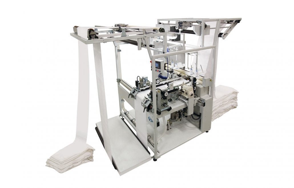 OSL 5620-C - Towel Length Hemming Unit. - Automatex