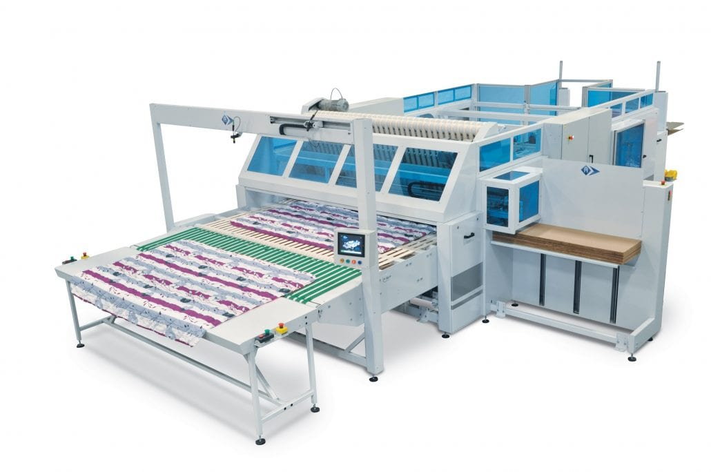 Quiltex-C -Folding Unit for Bulky/Heavy Products such as Quilts, Comforters - Automatex